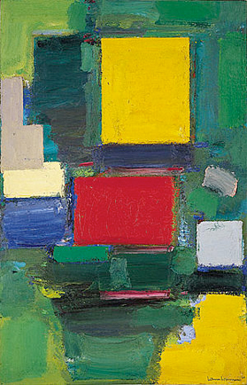 Figure 7. Hans Hoffmann, The Gate, 1959-60, Oil on Canvas, 75 x 48 1/2 inches (190.5 x 123.2 cm), Solomon R. Guggenheim Museum, New York, NY