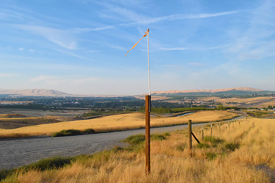 From McBee Hill looking towards Richland, WA (USA), home of the Guest House Cultural Capital Residency